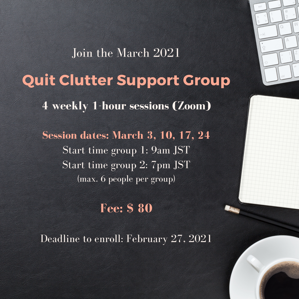 Quit Clutter Support Group