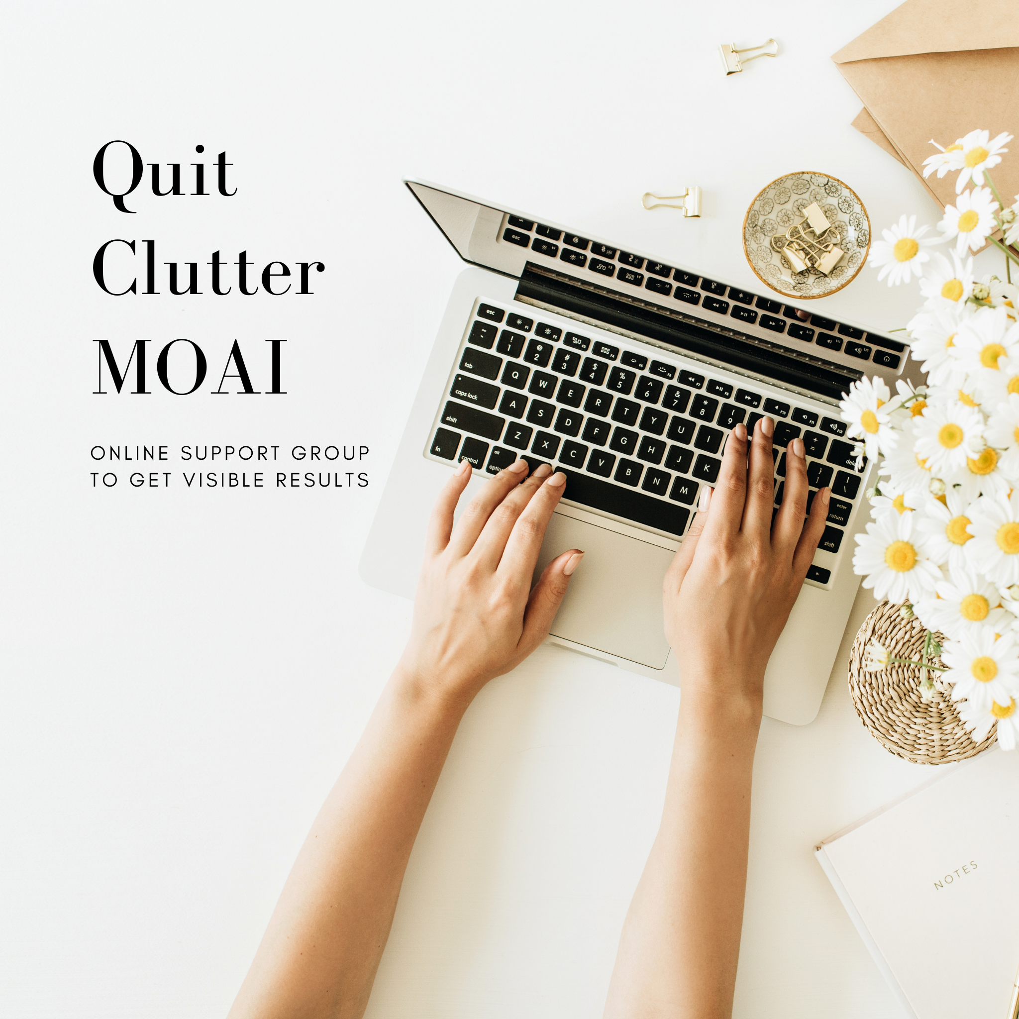 Quit Clutter Moai - May 2021